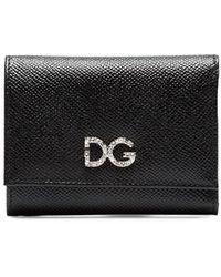 Dolce & Gabbana 三つ折り 財布 - ブラック