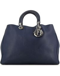 Dior Borsa tote Pre-owned Diorissimo - Blu