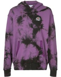 Just Don Tie Dye Hoodie - Purple