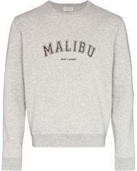 Saint Laurent - Толстовка Malibu - Lyst