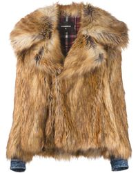 DSquared² - Faux-fur Jacket - Lyst