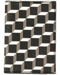 Pierre Hardy - Geometric Patterned Wallet - Lyst