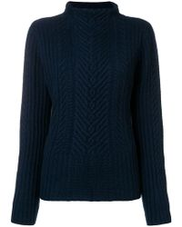 Hemisphere - Cashmere Cable Knit Sweater - Lyst