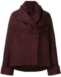 Ann Demeulemeester - Oversized Jacket - Lyst