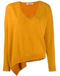 Dorothee Schumacher V Neck Sweater - Yellow