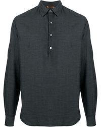 Barena ツイル シャツ - グレー