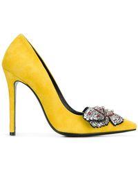 Ermanno Scervino - Crystal Embellished Court Shoes - Lyst
