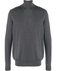 DSquared² Roll Neck Jumper - Gray