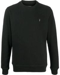 AllSaints ロゴ スウェットシャツ - ブラック