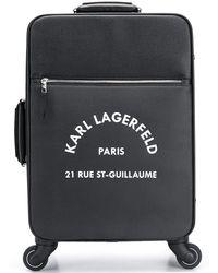 Karl Lagerfeld Чемодан Rue St Guillaume - Черный