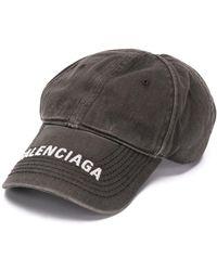 Balenciaga ロゴ キャップ - ブラック