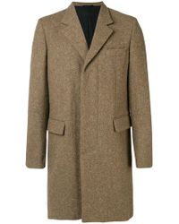 Ann Demeulemeester - Single Breasted Coat - Lyst
