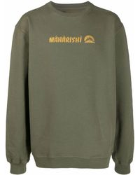 Maharishi ロゴ スウェットシャツ - グリーン