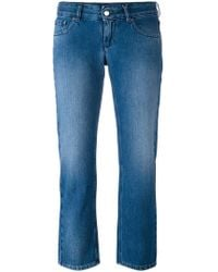 MM6 by Maison Martin Margiela | Cropped Jeans | Lyst