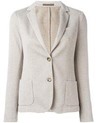 Eleventy - Fitted Blazer Jacket - Lyst