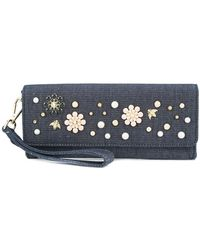 Christian Siriano - Denim Clutch - Lyst