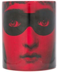 Fornasetti Don Giovanni Scented Candle - Red