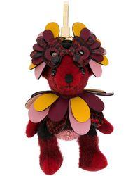 Burberry Thomas Bear Charm - Pink