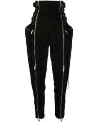 DSquared² Zip-up Pants - Black