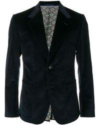 Gucci Buttoned Blazer - Blue