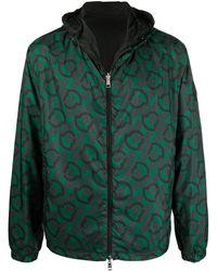 Moncler リバーシブル ライトジャケット - グリーン