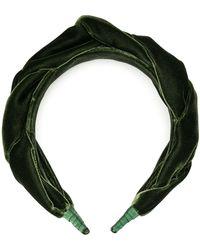 Le Monde Beryl Braid Headband - Green