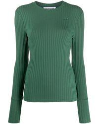 Courreges ロゴ セーター - グリーン