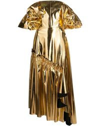 OSMAN メタリックドレス - マルチカラー