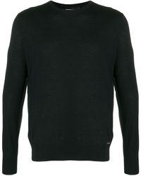 DSquared² ロゴプレート セーター - ブラック