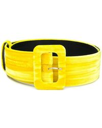 Attico - Classic Buckled Belt - Lyst