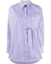 Chloé - ストライプ ロングスリーブシャツ - Lyst