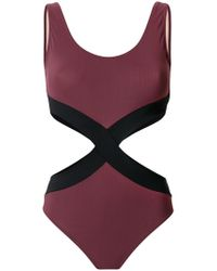 Zeus+Dione - Hourglass Cut Out Swimsuit - Lyst