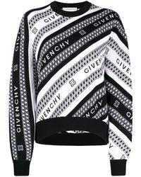 Givenchy Джемпер С Логотипом - Черный