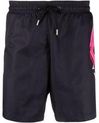 Philipp Plein Logo-print Swimming Shorts - Black