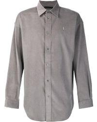 Alexander Wang - Grey Dollar Sign Shirt - Lyst