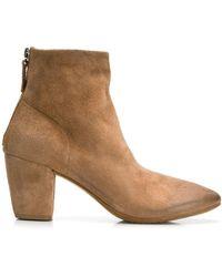 Marsèll High Block Heel Boots - Brown