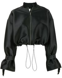 Sachin & Babi Flared Cropped Jacket - ブラック