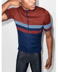 Rapha Brevet Stripe-pattern Cycling Vest - Blue
