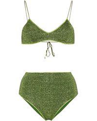 Oséree 'Lumière' Triangel-Bikini - Grün