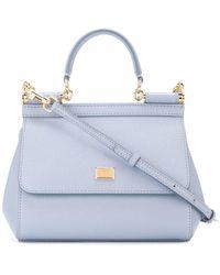 Dolce & Gabbana Sicily ハンドバッグs - ブルー