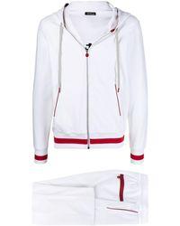 Kiton トラックスーツ - ホワイト