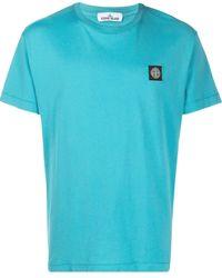 Stone Island - ロゴパッチ Tシャツ - Lyst