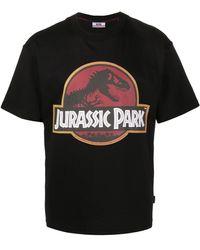 Gcds Jurassic Park ロゴ Tシャツ - ブラック