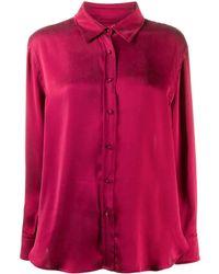 L'Autre Chose - ボタン シルクシャツ - Lyst