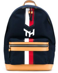 Tommy Hilfiger Sky Captain Flap Backpack - Blue