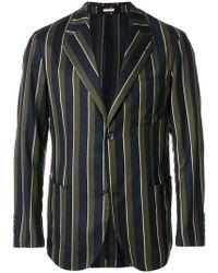 Massimo Alba - Striped Single Breasted Blazer - Lyst
