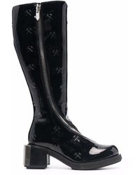 GmbH Mid-calf Riding Boots - Black