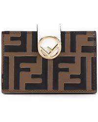Fendi - Logo Wallet - Lyst