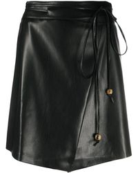 Nanushka スカート - ブラック