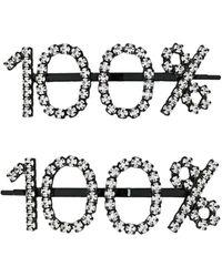 Ashley Williams 100% Hair Clips - Black